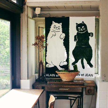手ぬぐい(注染) 黒猫