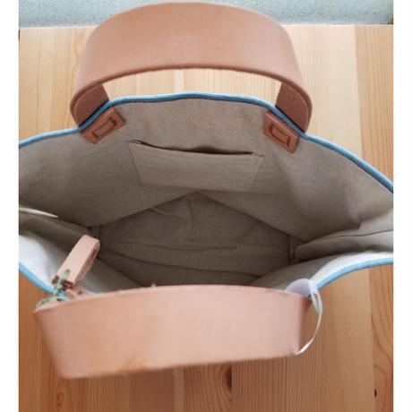 れんげの家 帆布トートバッグS