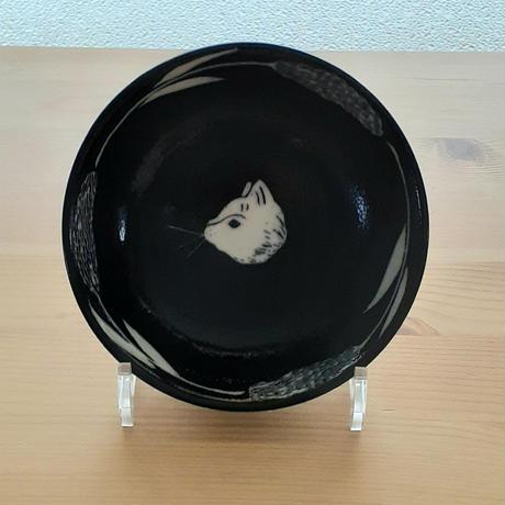 ねこ中鉢・黒