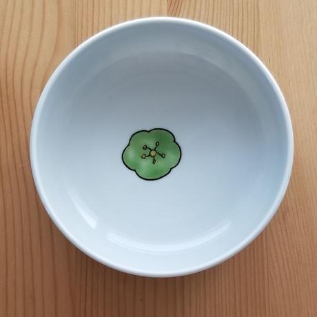 九谷焼 取り鉢 梅・スカビオサ