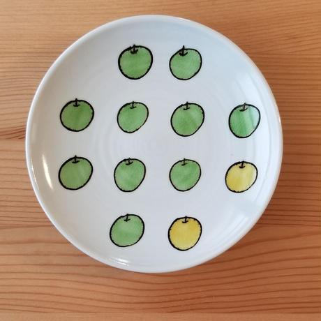 九谷焼 取り皿 レモン・青りんご・フライパン