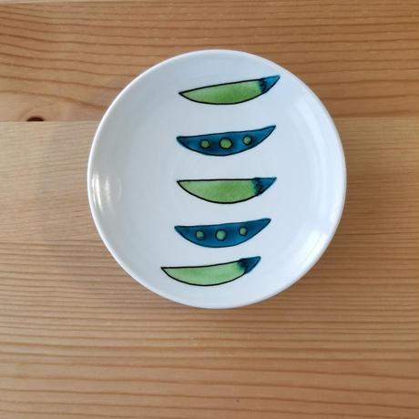 九谷焼 豆皿 かいわれ・玉葱・セロリ・スナップえんどう・かぶ・大根