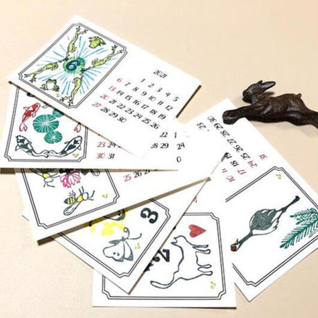 久奈屋 曆カード 「いきもの曆」