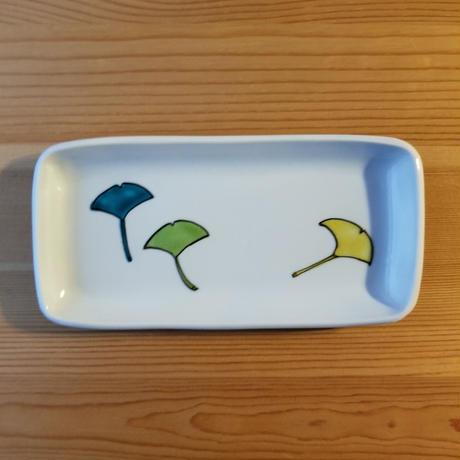 九谷焼 付きだし皿 いちょう