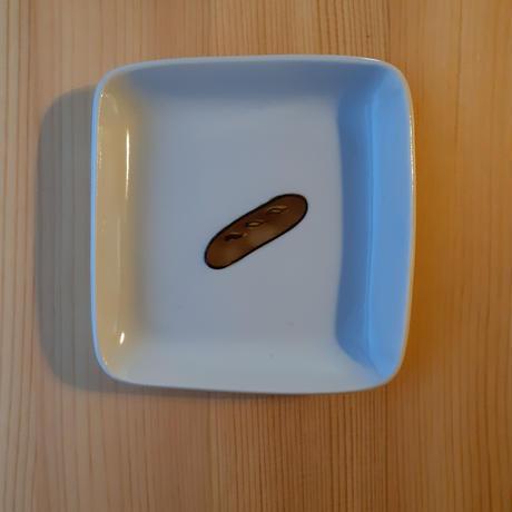 九谷焼 四角皿 (小)パン·フライパン