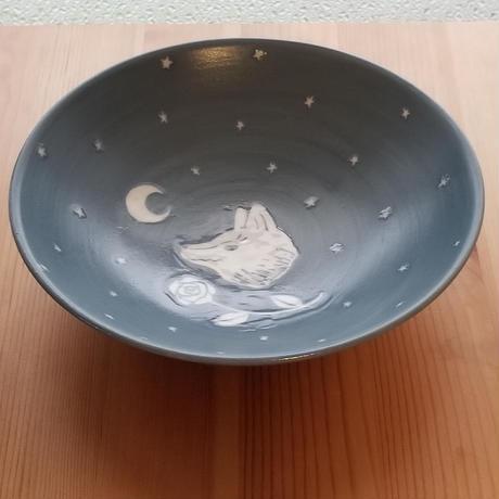 オオカミ 鉢  左向き・右向き