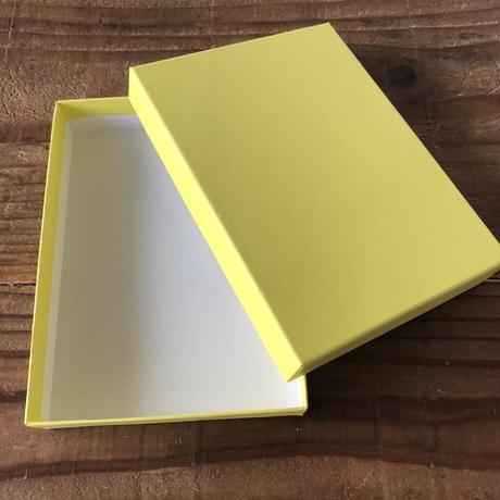 はんこ素材:貼り箱キット(無地ハガキサイズ)| Stamp Material: Decorative paper box kit (Plain, Postcard size)