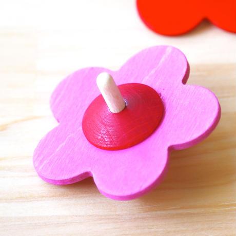 花こま/青・緑・ピンク・赤・黄