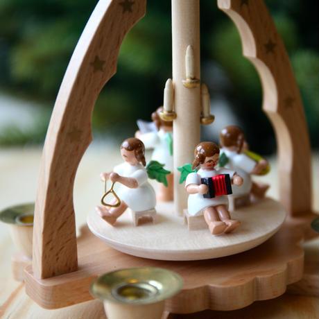 クリスマスピラミッド「天使の音楽隊」