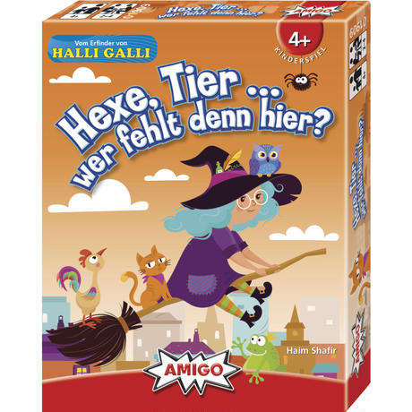 カードゲーム「魔女は誰といるの?」  アミーゴ / ドイツ