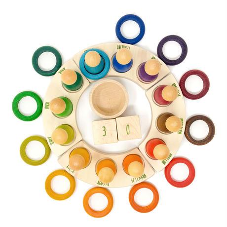 12リング(12色) (12 RINGS/COMPLEMENT PERPETUALCALENDAR) 18-187