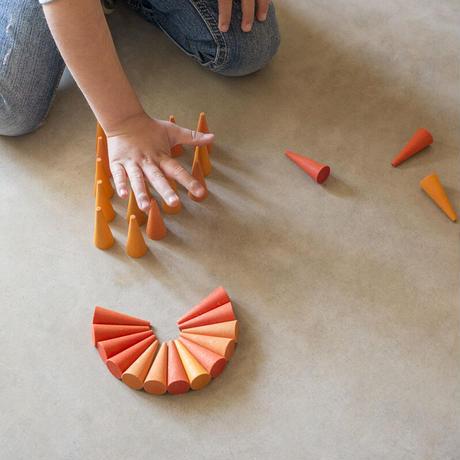 まんだら オレンジコーン (Mandala Orange Cone)  19-206
