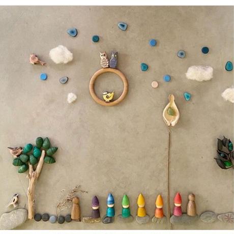 まんだら ブルーコイン(Mandala Little Coin)  18-198