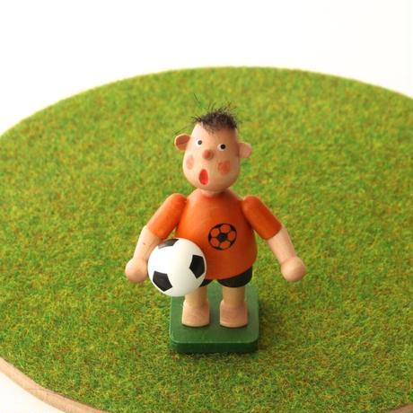 サッカー少年・オレンジシャツ / クリスチャン・ウルブリヒト工房