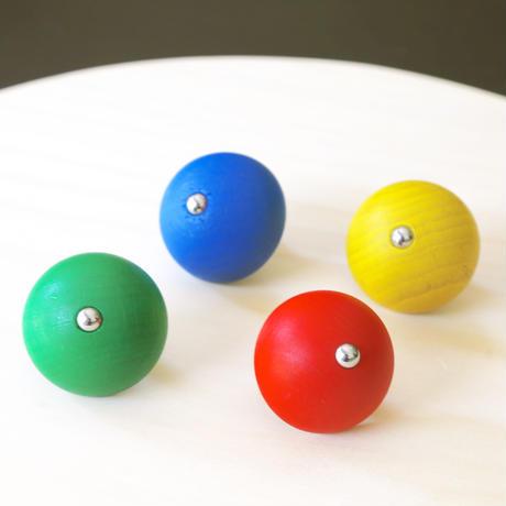 ベリこま1個/緑・赤・黄  ・青