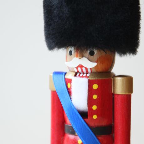 ミニくるみ割り人形「兵隊 カラー」