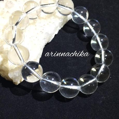 ハーキマーダイヤモンドブレスレット14ミリ