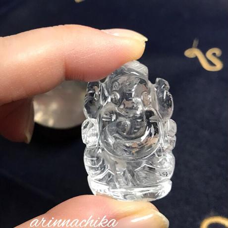 5Aヒマラヤ水晶ガネーシャ神