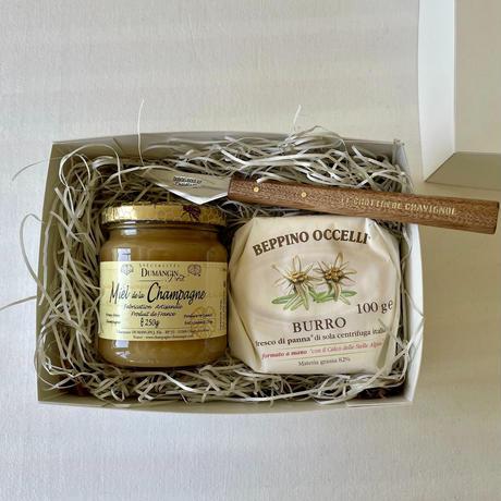 蜂蜜とバターのギフトセット