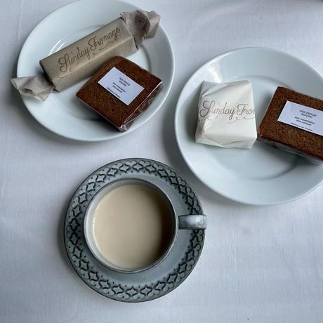 「チーズ1種+パンドエピス のset 」     7月は   ガレ・ド・ラ・ロワール