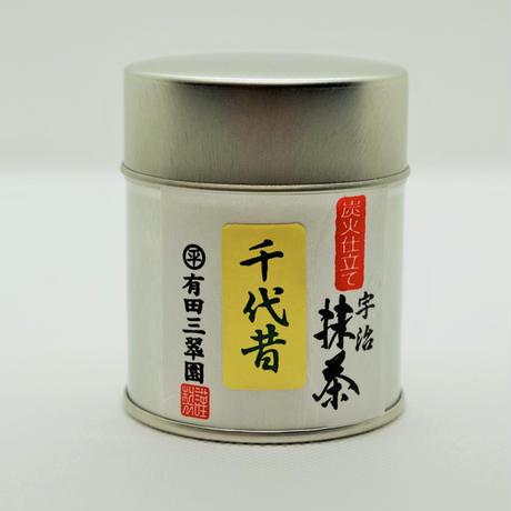 宇治抹茶 千代昔【ちよむかし】30g缶入