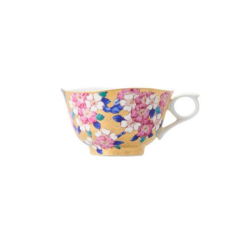 天童 金彩 桜 碗皿