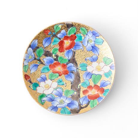 天童 金彩椿碗皿