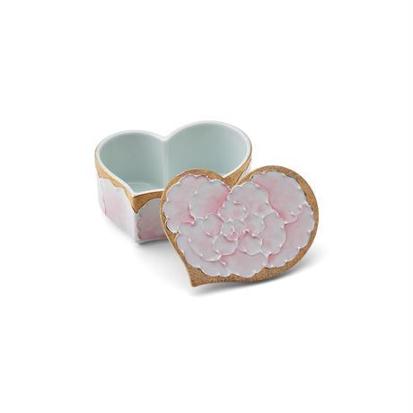 ゴールド牡丹(ピンク) mimi ミニ陶BOX