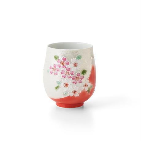 赤富士桜(パール) 湯呑