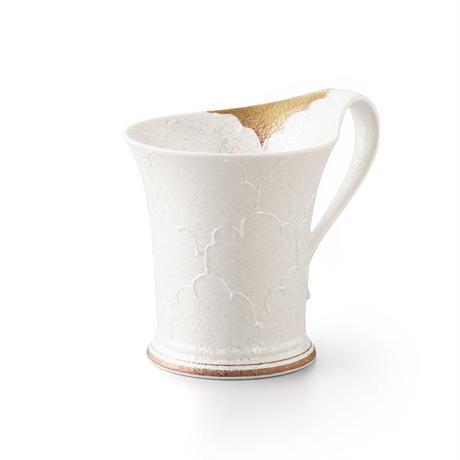 パール牡丹(ゴールド)マグカップ