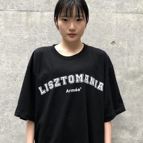 LISZTOMANIA ビッグシルエットTシャツ