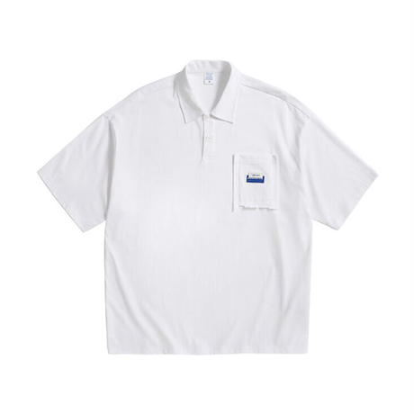 ビッグシルエットポロシャツ