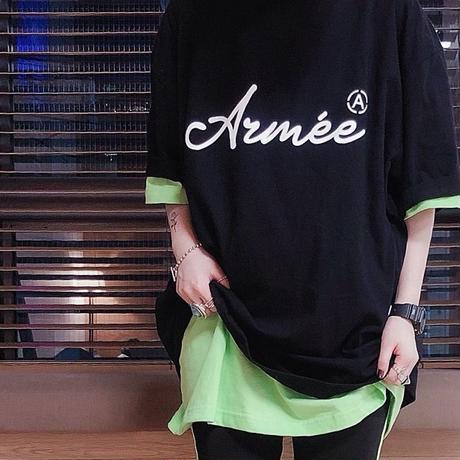 問合せ多数!Armée オーバーサイズTシャツ 001