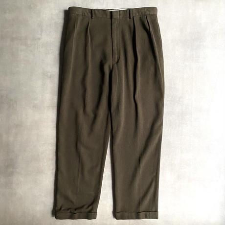 """Polo by Ralph Lauren"" 2tuck cotton slacks"