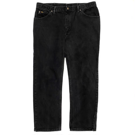 """Lee"" black denim pants"