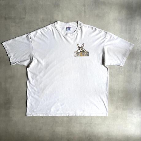 """90's """"SOF TEE"""" buck wear T-shirt"""