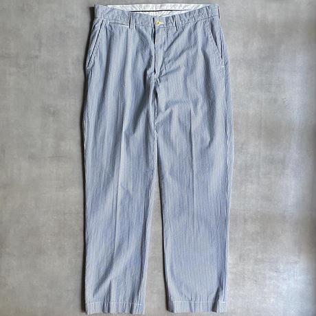 """""""Polo by Ralph Lauren"""" seersucker stripe slacks"""