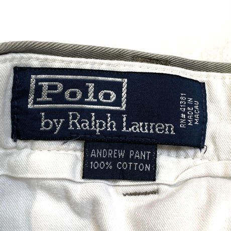 "Polo by Ralph Lauren ""ANDREW"" cotton chino pants"