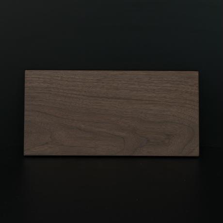 ウォールナットの薄型プレート/Lサイズ