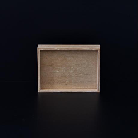 白木のフォトフレーム/Sサイズ
