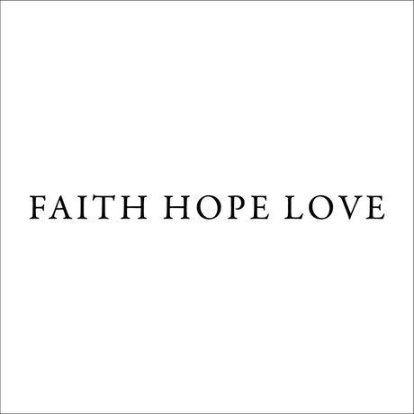関真哉 FAITH HOPE LOVE ビックシルエット