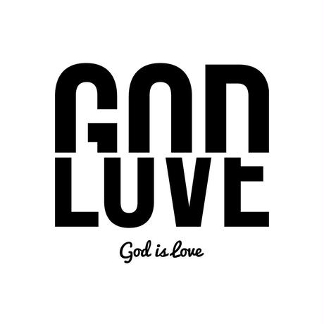 GOD IS LOVE ホワイト