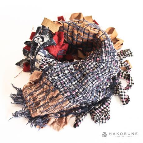 織りのストール majibon