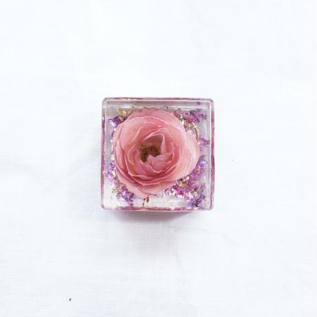 キュービックオルゴナイト薔薇 #QB08 / watanabe aki