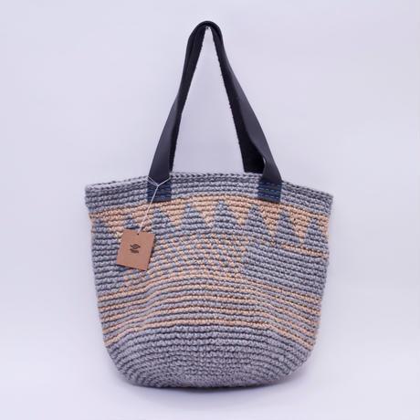 地層模様 Bag  グレー /  Miroru