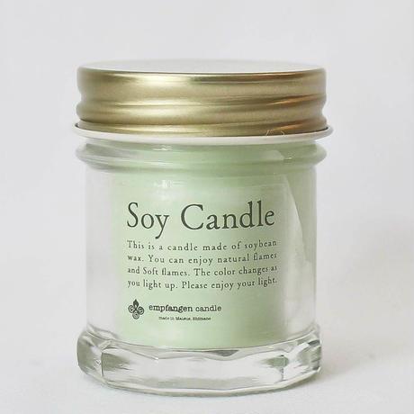トラベルキャンドルSOY candle mini Green / empfangen candle
