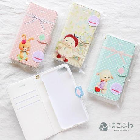 iphone手帳型スマホケース7/8用 Minamin*