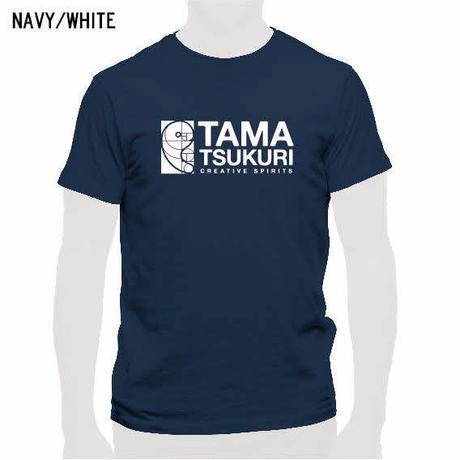 タマスピTシャツ ネイビー/メンズ・レディース