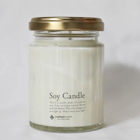 トラベルキャンドルSOY candle White / empfangen candle