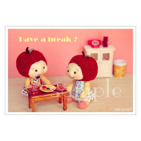 フルリちゃん-Have a break? ポストカード Minamin